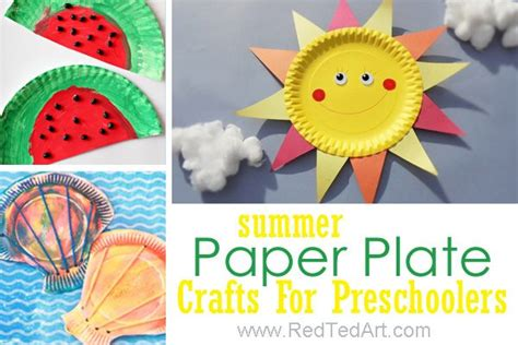 summer paper crafts for summer crafts for preschoolers ted s
