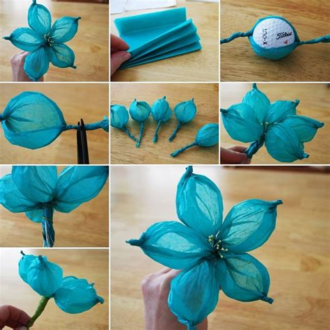 craft with paper crafts made from tissue paper