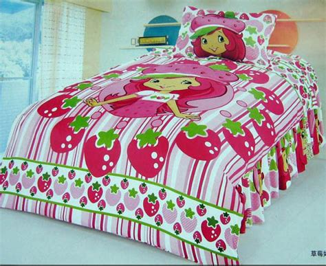 strawberry shortcake bed set strawberry shortcake bedroom comforter set bedding