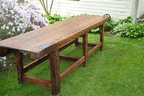 antique woodworking bench 19th c antique woodworking bench