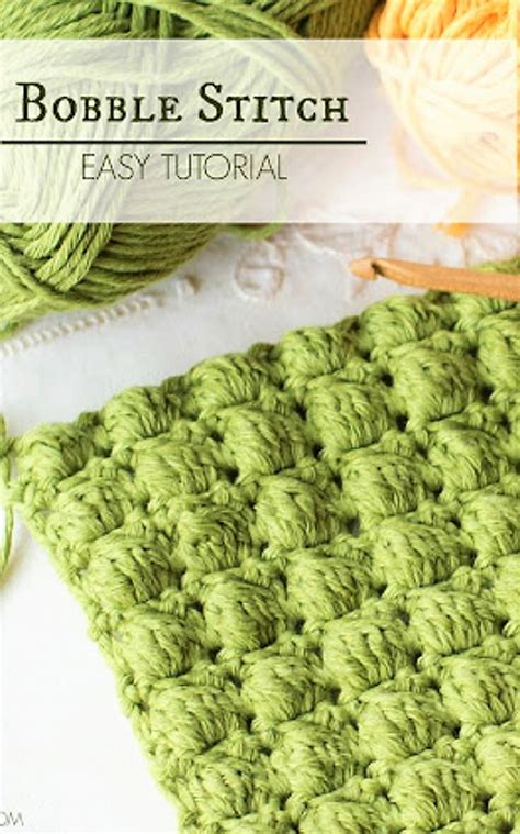 how to knit a bobble button 25 best ideas about bobble stitch crochet on