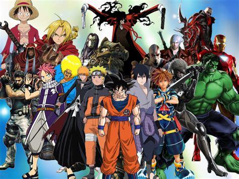 anime heroes best heroes by dragonboy1092 on deviantart
