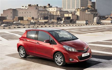 Wallpaper Car 2012 by Toyota Yaris 2012 Wallpapers Hd Car Wallpapers