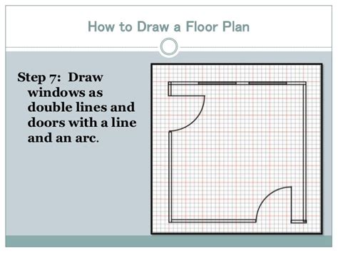 drawing floor plans drawing a floor plan