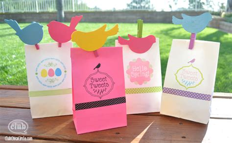 easter paper bag crafts and easter paper bag printing ideas with free
