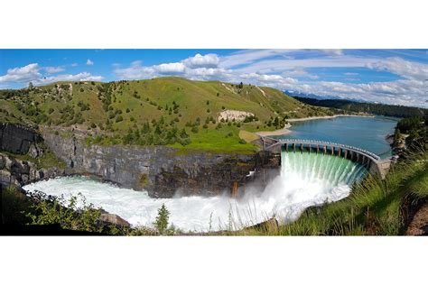 Flathead Lake montana tribes will be the first to own a hydroelectric