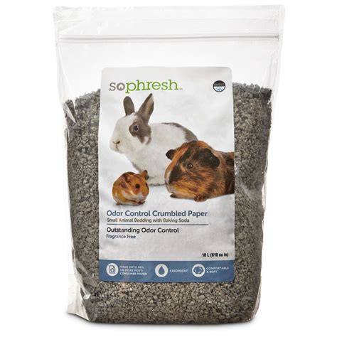 animal bedding so phresh crumbled paper small animal bedding petco store