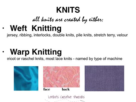 different kinds of knit fabrics knit fabrics and woven fabrics defined
