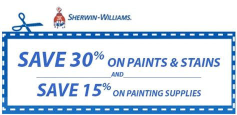 sherwin williams paint store coupons free printable coupons sherwin williams coupons