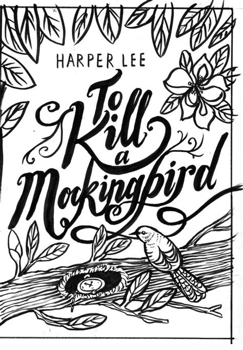 to kill a mockingbird picture book inkymole if i could illustrate any book cover