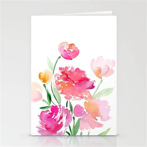 how to make flower cards best 25 watercolor cards ideas on watercolor