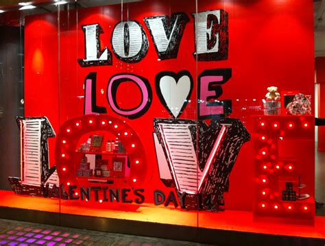 how to rock your valentine s day window display 4over4 com