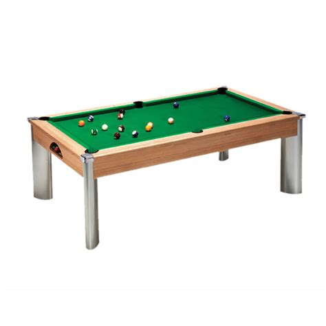fusion pool table oak dpt fusion dining pool table leisure