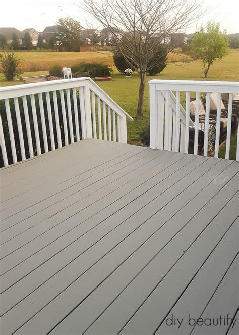 paint colors deck how to update a deck with paint diy beautify
