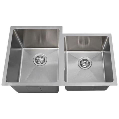 homedepot kitchen sinks polaris sinks undermount stainless steel 31 in