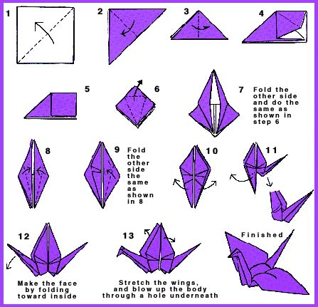 how to fold origami how to make an origami crane snacksized