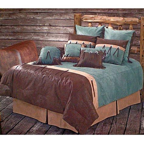 western bedding sets san juan turquoise western bedding comforter set size
