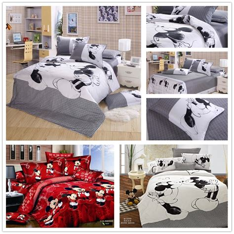 mickey and minnie comforter set popular mickey minnie mouse bedding buy cheap mickey