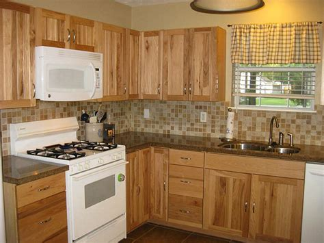 lowes hickory kitchen cabinets hickory kitchen cabinets lowes all home ideas rustic