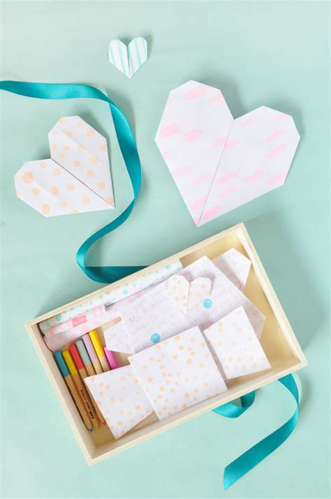 Origami Mail Kit Handmade