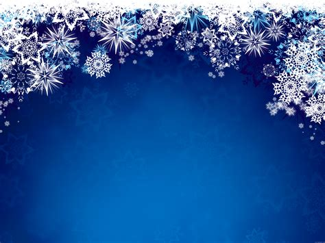 100 winter powerpoint template background simple
