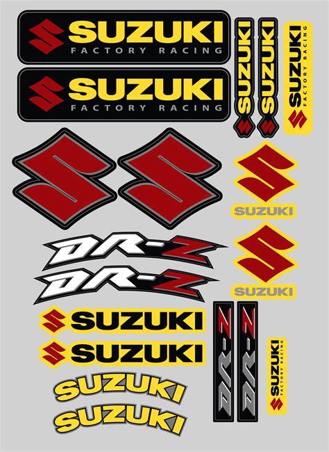 Suzuki Decals by Suzuki Drz Sticker Kit