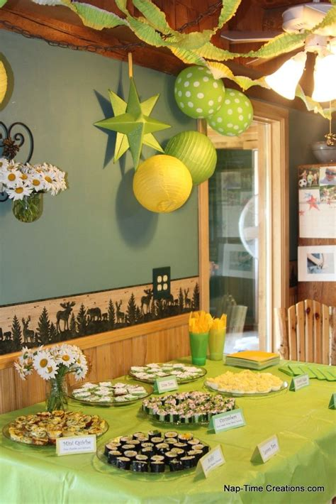Green And Yellow Table Decorations by 82 Best Green And Yellow Baby Showers Images On Pinterest