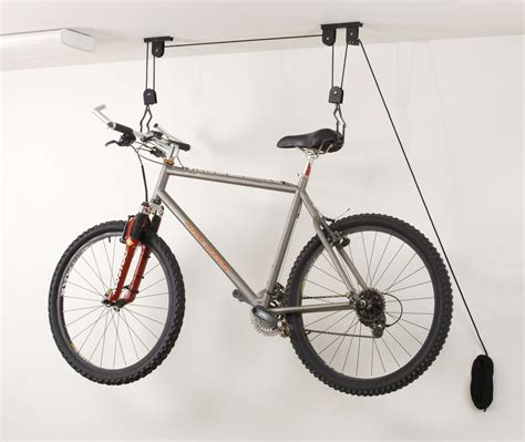 ceiling mounted bike rack ceiling bike storage lift hang cycle bicycle garage shed