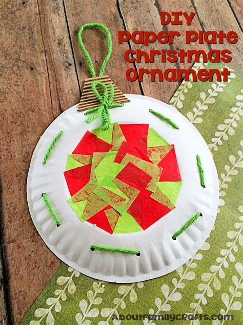 paper plate decoration craft paper plate ornament decoration about family
