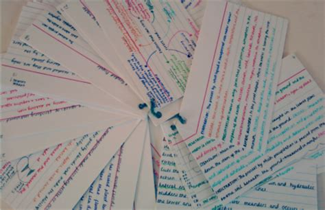 how to make effective flash cards re learning to revise part 2 med school