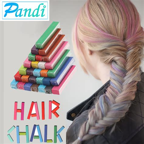 chalk paint your hair aliexpress buy hair color chalk temporary hair dye