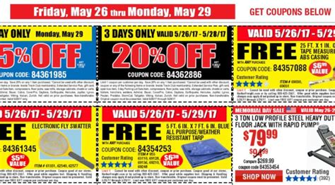 shipwreck coupon harbor freight 4 day sale coupons ship saves