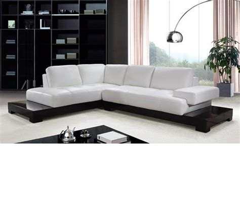 modern leather sofas and sectionals contemporary sectional sofas alina contemporary black