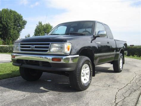 purchase used 1997 toyota t100 4wd 5 speed manual v6 rare in orlando florida united states