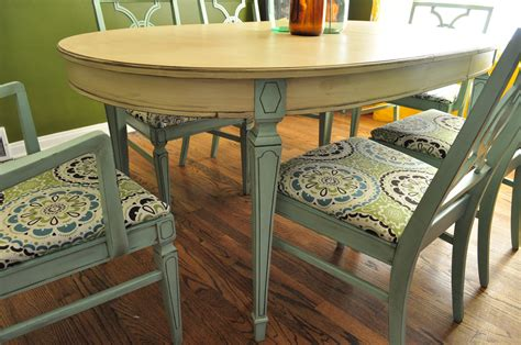 painted dining table items similar to sold custom painted dining room table an