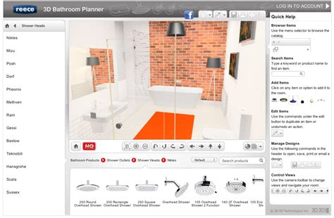 bathroom layout design tool free new easy 3d bathroom planner lets you design yourself the interiors addict