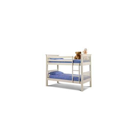 barcelona white bunk bed barcelona bunkbed underbed in white finish bunkbeds