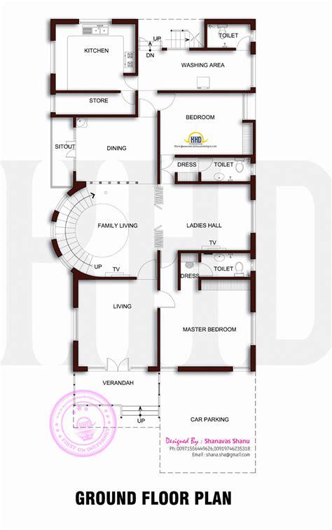 beautiful contemporary home plan home kerala plans