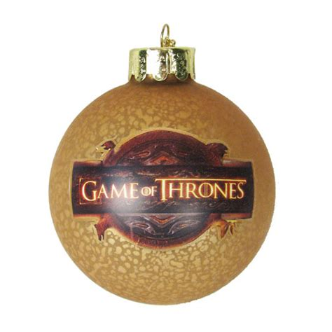 tv ornaments of thrones tv show logo 3 inch glass ornament