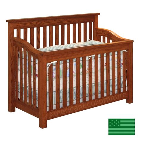 baby cribs made in america amish maddon 4 in 1 convertible baby crib solid wood