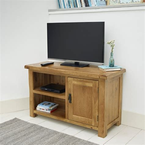 solid oak tv cabinet original rustic tv cabinet in solid oak oak furniture land