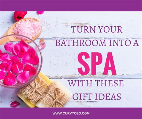 Turn Bathroom Into Spa by Gift Ideas To Turn Your Bathroom Into A Spa