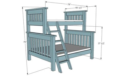 plans for bunk bed bunk bed plans