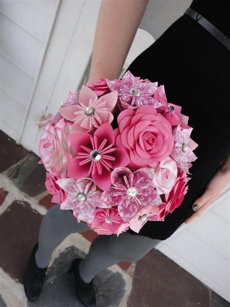 origami kusudama flower bouquet large paper flower bridal bouquet wedding kusudama