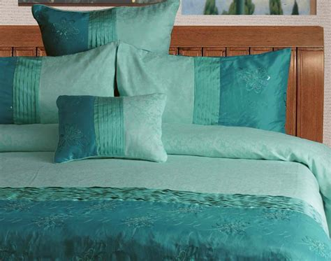 sea green bedding set aqua turquoise sea green king quilt donna duvetcover