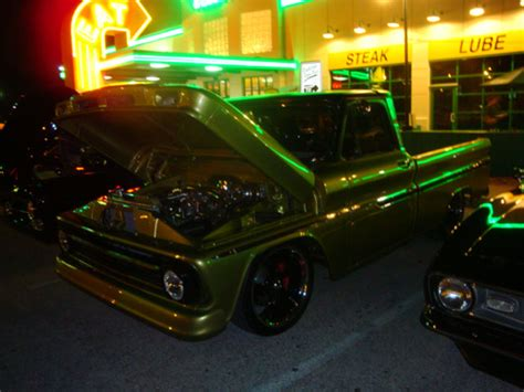 paint nite quaker steak and lube farrell s 1966 chevy c10 car shows attitude paint