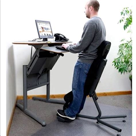 Stand Up Desk Chairs by Standing From A Chair Sit Stand Desk