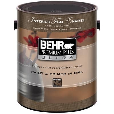 home depot ultra paint behr behr premium plus ultra interior flat enamel paint