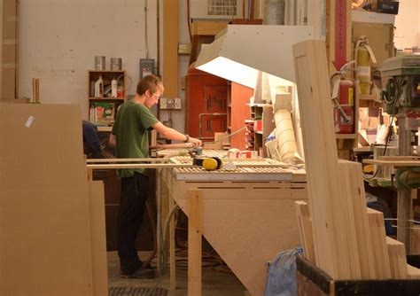 sanding stations for woodworking touring karhu cabinetry and millwork