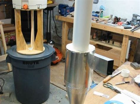 cyclone dust collectors for woodworking mikehacker woodworking